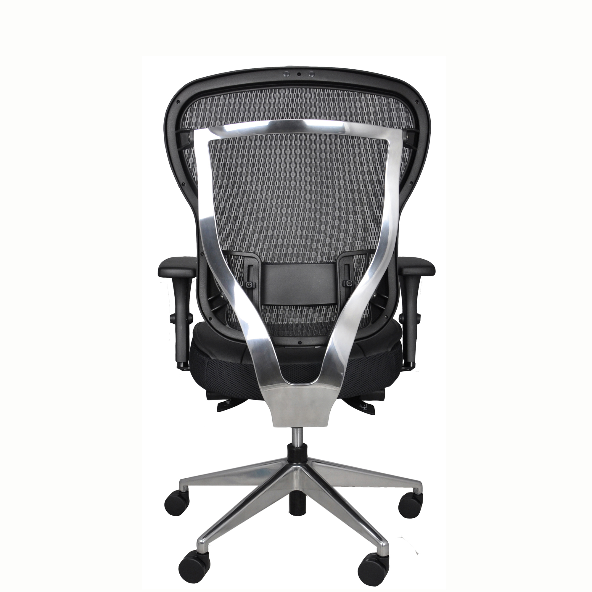 Rika Mesh Back Home Office Chair - Back View