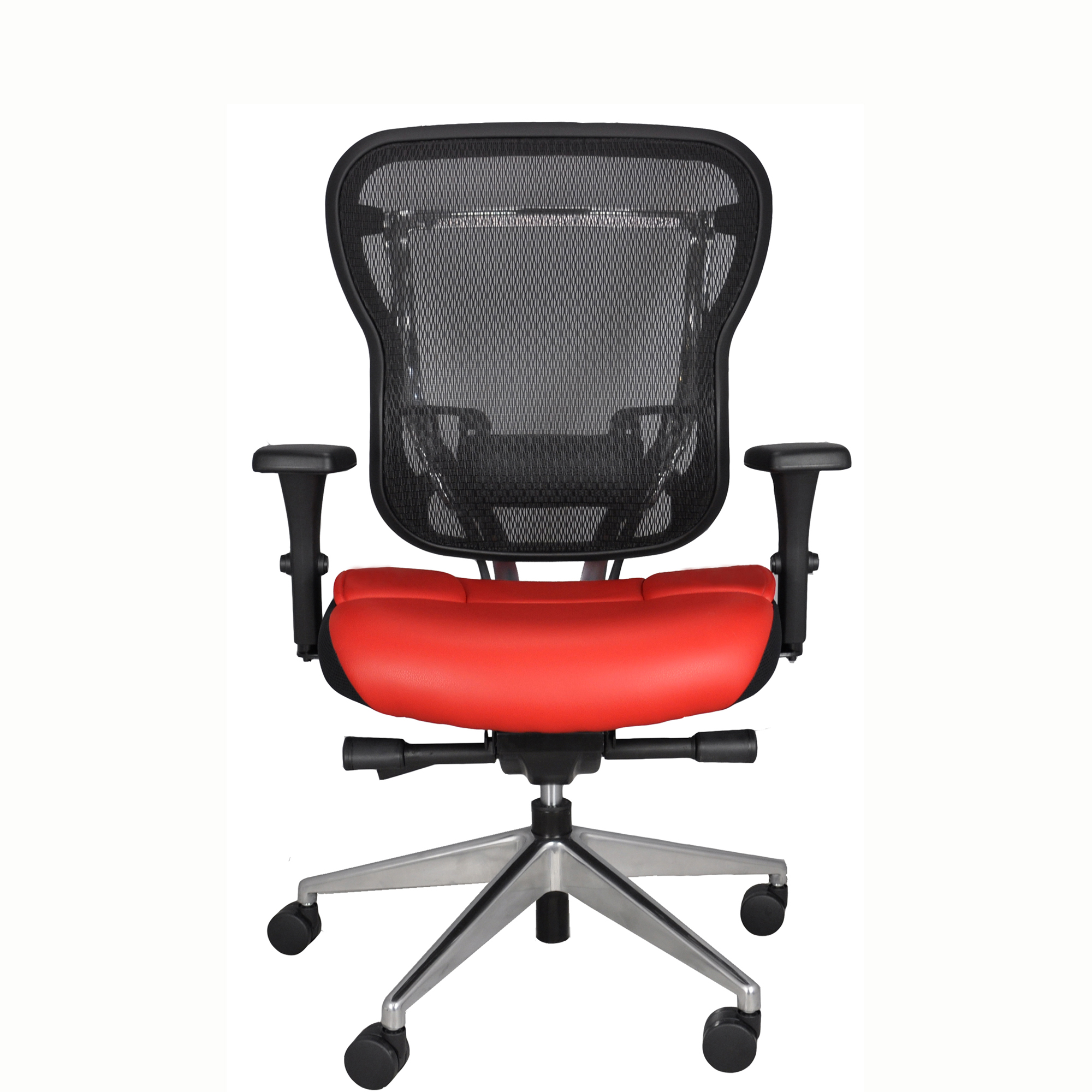 Home Office Chair With Leather Seat