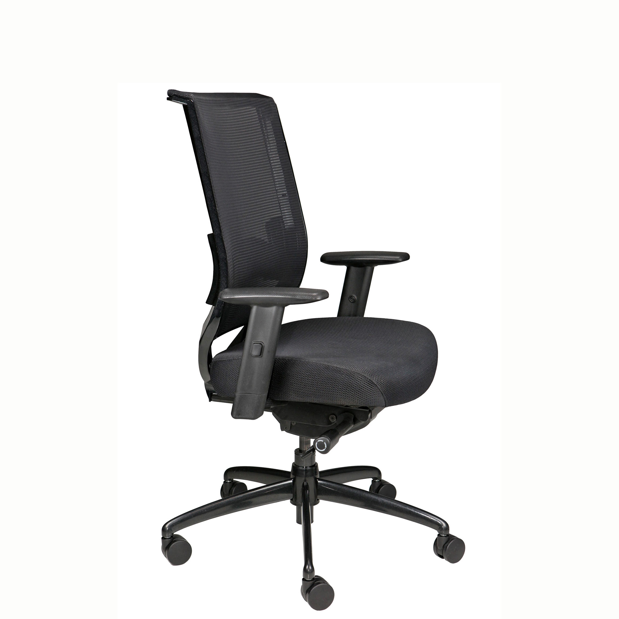 Nifty Mesh-Back Chair For Home Office