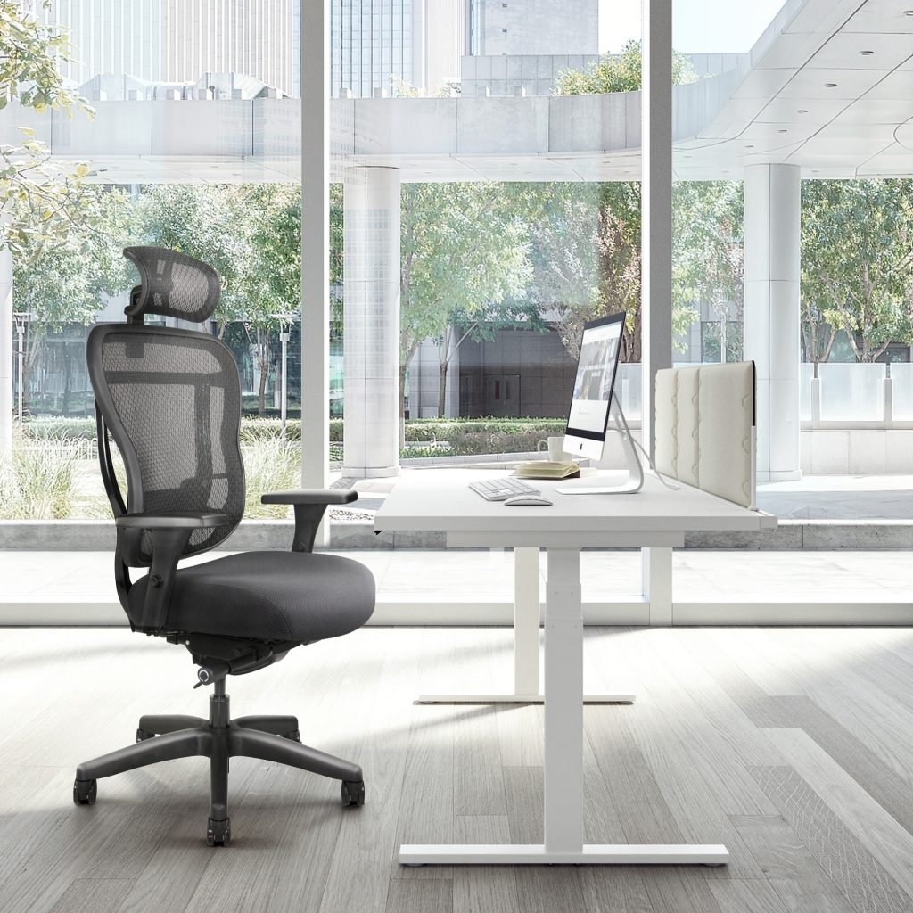 Home Office Chair With Comfortable Seat And Headrest