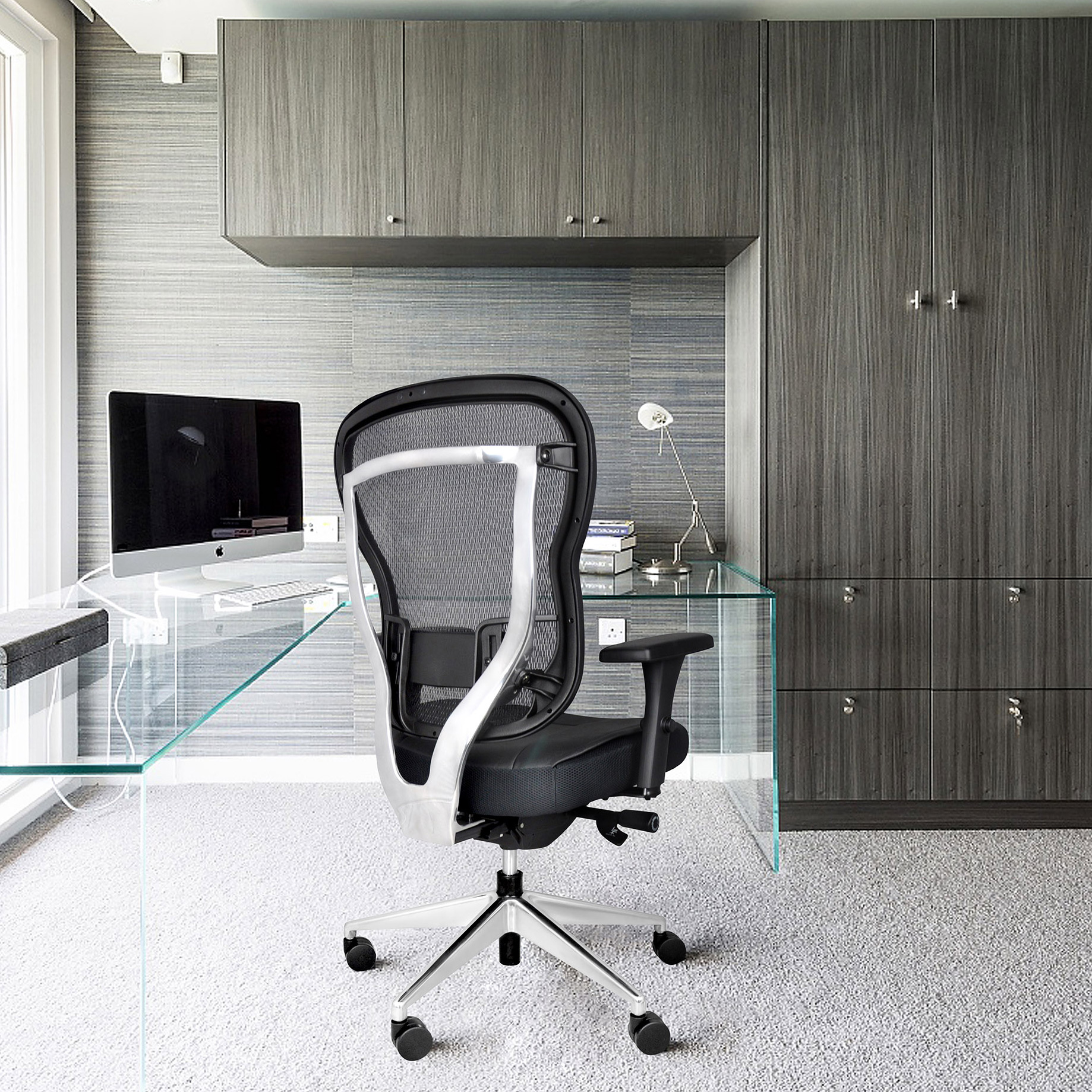 Rika Home Office Chair - Back Angle