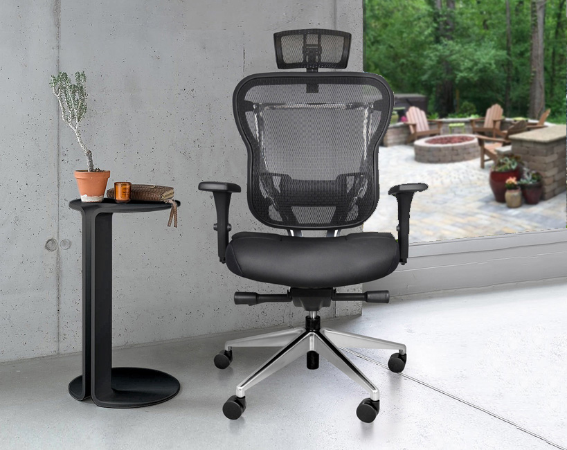 Rika Mesh Back Home Office Chair With Headrest