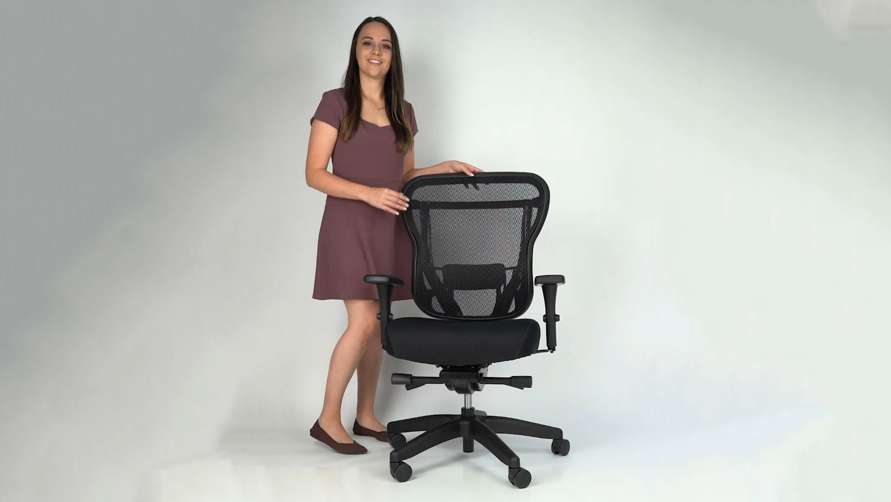 Rika Chair with fabric seat