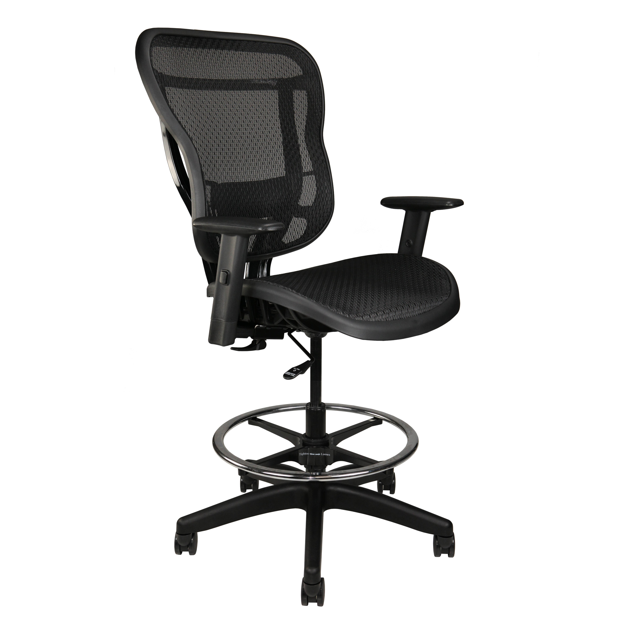 Home Office Stool With Arms