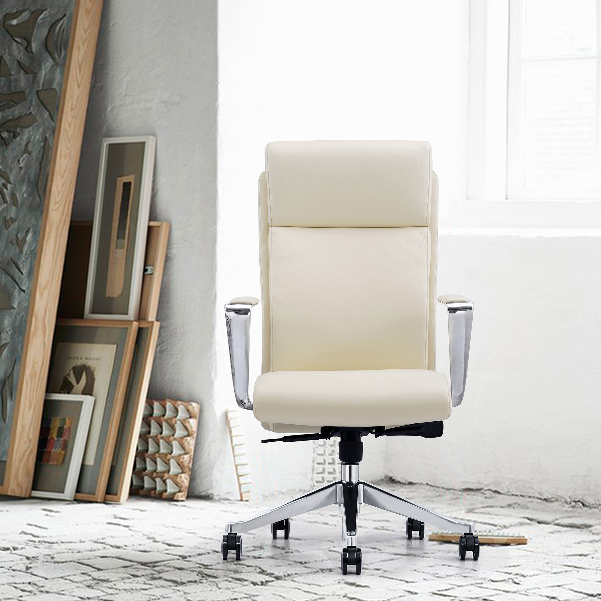 Leather On Demand LOD68 home office chair