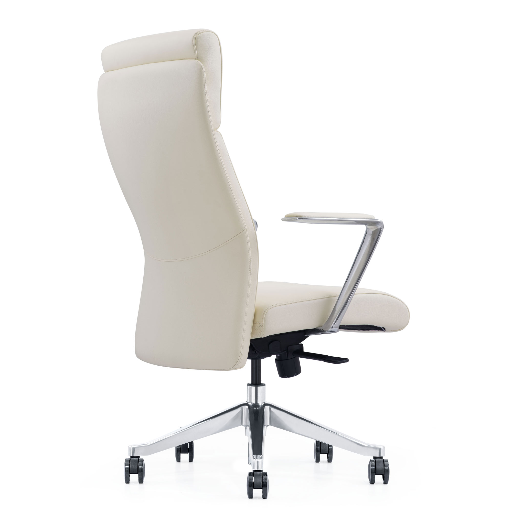 LOD68, Off-white leather chair