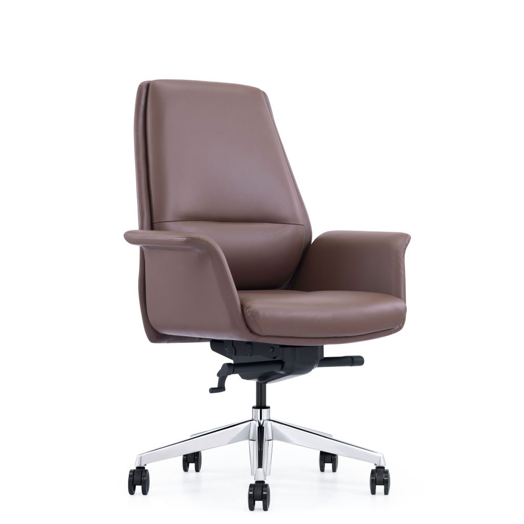 LOD85 Brown Leather Chair