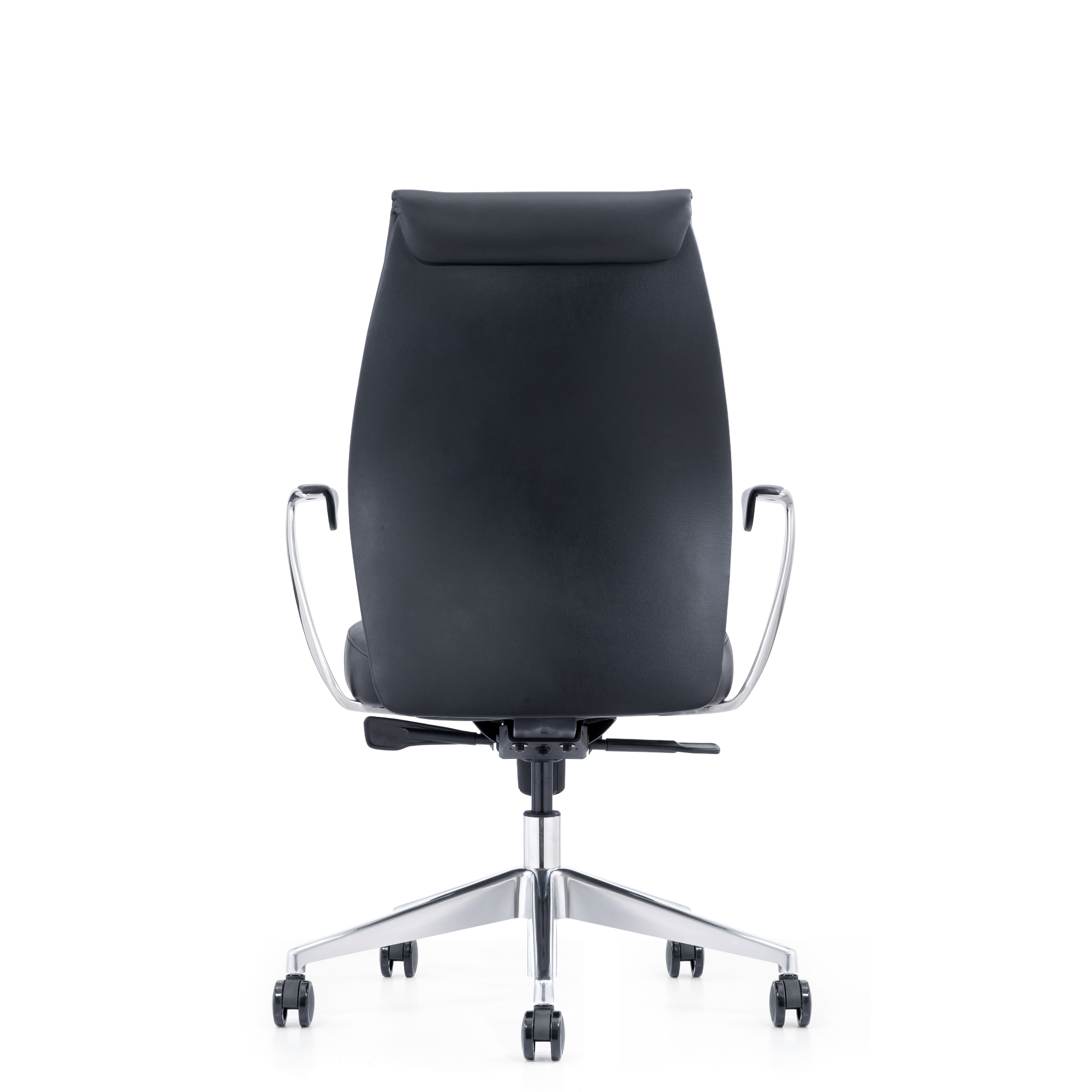 Comfortable Home Office Chair with Wheels and Arms